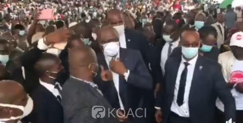 Côte d'Ivoire : Hamed Bakayoko à propos des mouvements de rues: « Je suis un homme de grand cœur qui ne tolérera pas le désordre »