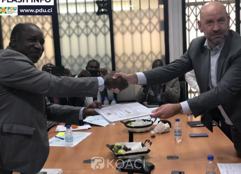 Côte d'Ivoire : Environ 164 milliards de FCFA de financement de la Deutsche Bank pour la première tranche de la ville universitaire d'Adiaké