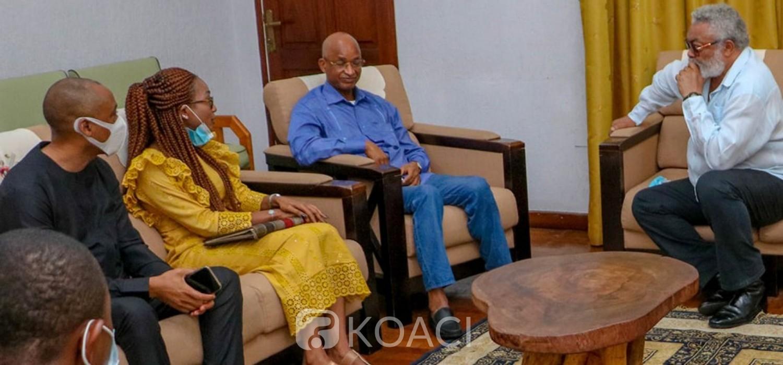 Guinée :   Appels de Rawlings aux autorités guinéennes et à la CEDEAO avant les élections