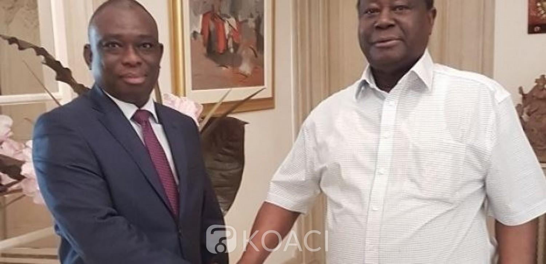 Côte d'Ivoire:   Présidentielle d'Octobre prochain, le candidat KKB remercie les militants du PDCI et inscrit sa candidature dans la lignée de Houphouët-Boigny