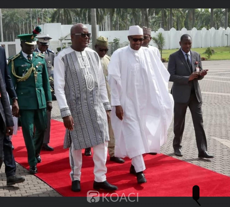 Burkina Faso : Le président Kaboré en visite d'amitié et de travail à Abuja