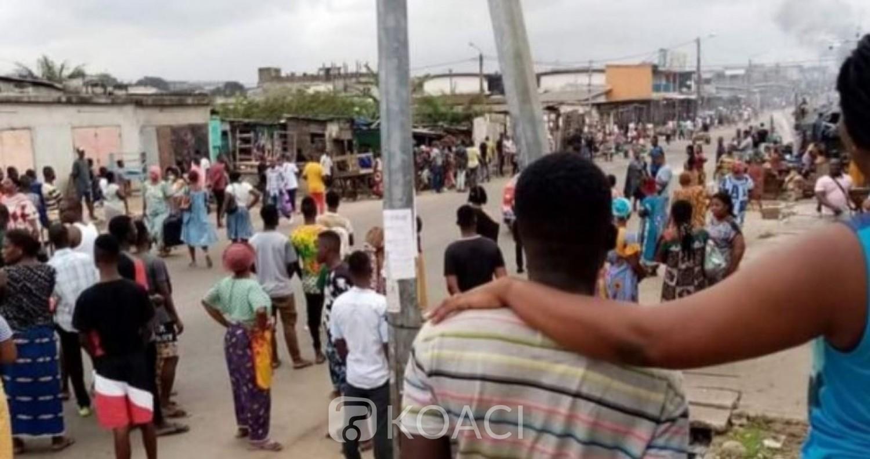 Côte d'Ivoire : Des casseurs en action à Yopougon, un cargo de gendarmes attaqué