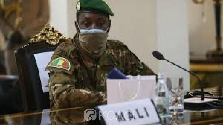Mali : Un collège en «réunion» ce lundi pour désigner un Président de transition