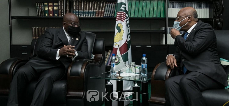 Cedeao :  Akufo-Addo rencontre la Commission de la CEDEAO et déroule son programme d'action