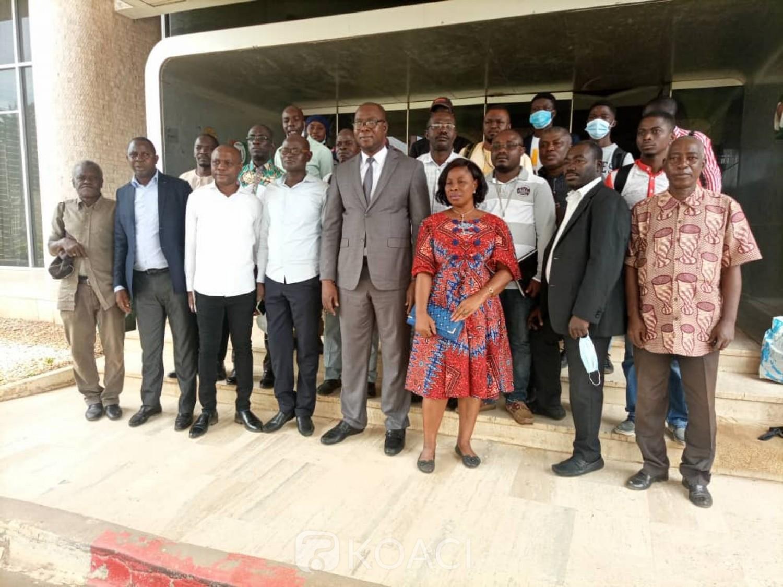 Côte d'Ivoire : Bouaké, l'UNJCI désormais à l'intérieur du pays, le délégué général investi