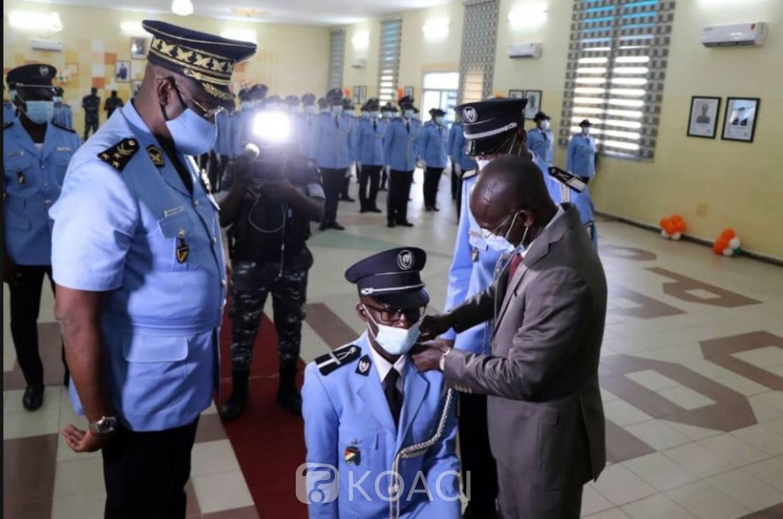 Côte d'Ivoire : Sécurité, Vagondo aux 458  nouveaux   officiers : « Remplissez  votre  mission avec loyauté »