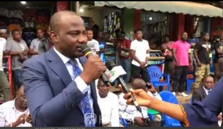 Côte d'Ivoire : Depuis Adjamé, Alpha Yaya martèle que Soro fait preuve d'immaturité et appelle à une marche pour soutenir la stabilité