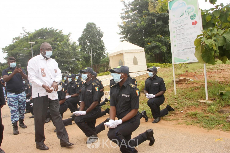 Côte d'Ivoire : Bouaké, avec 23 nouveaux agents à son effectif, la 6ème promotion de la police municipale baptisée