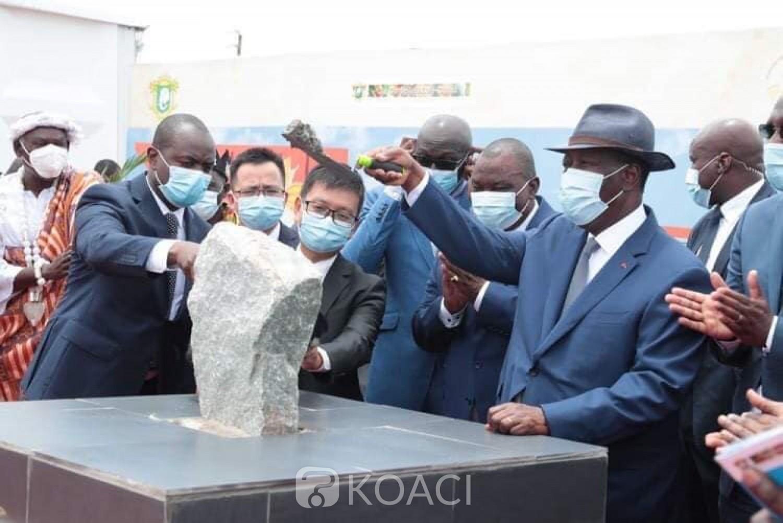 Côte d'Ivoire :    Lancement des travaux de deux complexes de transformation de cacao, Ouattara rassurant : « Nous aurons un taux de croissance positif entre 1,5 et 2% »