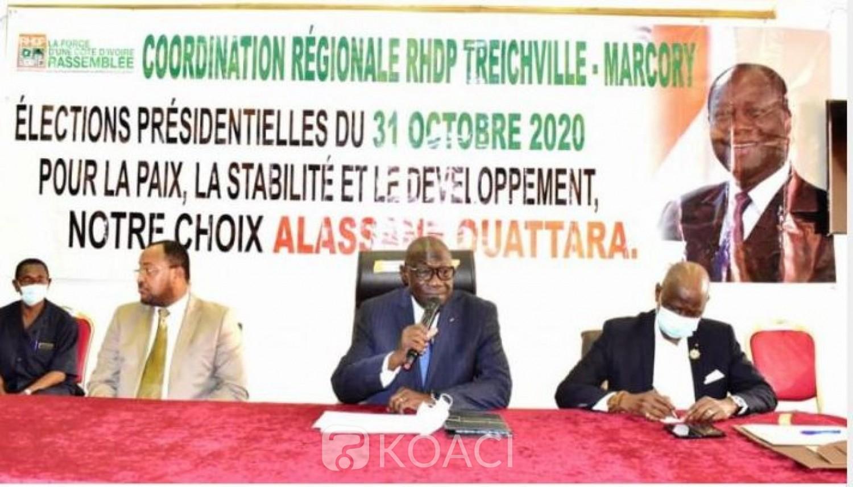 Côte d'Ivoire : Installation de l'équipe de campagne du RHDP de Treichville-Marcory, Amichia : « Pourquoi ces élections nous allons les gagner en un coup KO »