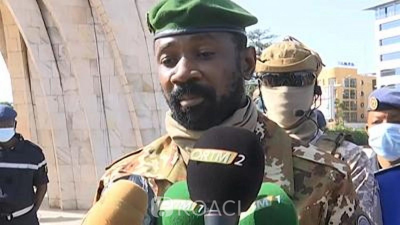 Mali : Le nouveau Vice-Président Assimi Goita presse la CEDEAO de lever les sanctions