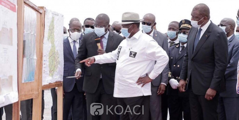 Côte d'Ivoire : Depuis Sinfra, Ouattara à propos de ses adversaires : « S'ils ne parlent pas de leur bilan, pour l'un d'entre eux, nous, nous parlerons de son bilan car c'est lui qui a créé, tous les