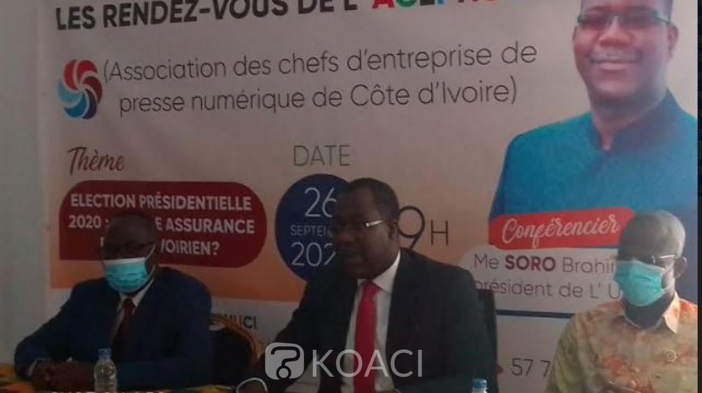 Côte d'Ivoire : Présidentielle 2020, l'UPCI craint de graves dangers si les élections se déroulent dans les conditions actuelles