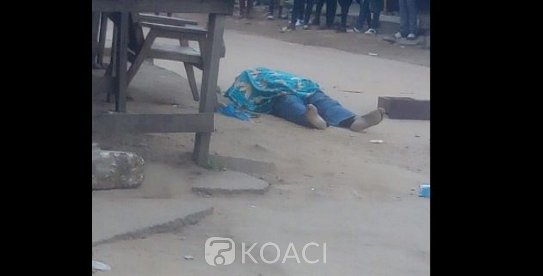 Côte d'Ivoire : Drame à Yopougon, le corps sans vie d'un homme découvert dans la rue avec une arme