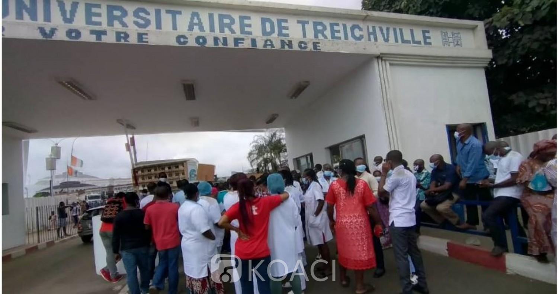 Côte d'Ivoire : Grève de médecins contractuels, aide-soignant et autres dans les CHU et centres de santé pour non paiement de la prime liée à la COVID-19