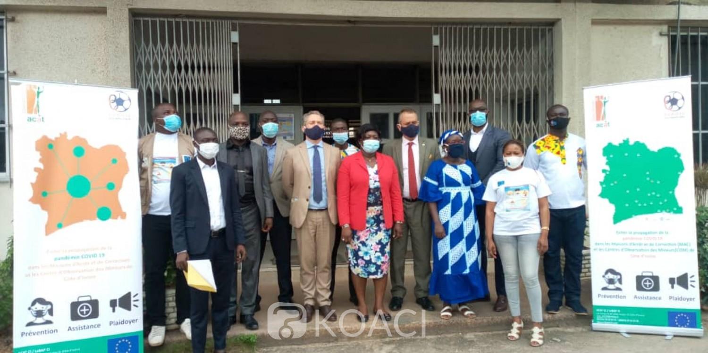 Côte d'Ivoire : Lutte contre la Covid en milieu carcéral, après avoir visité toutes les prisons du Pays, l'ACAT dresse le bilan après 4 mois de projet