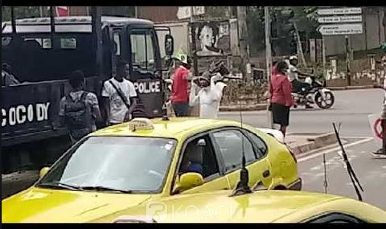 Côte d'Ivoire : Pas d'insécurité sur  la voie allant du carrefour « La vie » pour Adjamé, assure la police