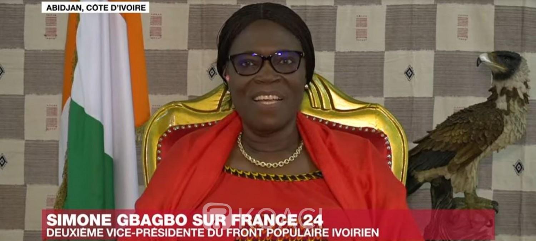 Côte d'Ivoire : Simone Gbagbo n'exclut rien à propos d'une candidature : « J'ai un avenir politique en Côte d'Ivoire »