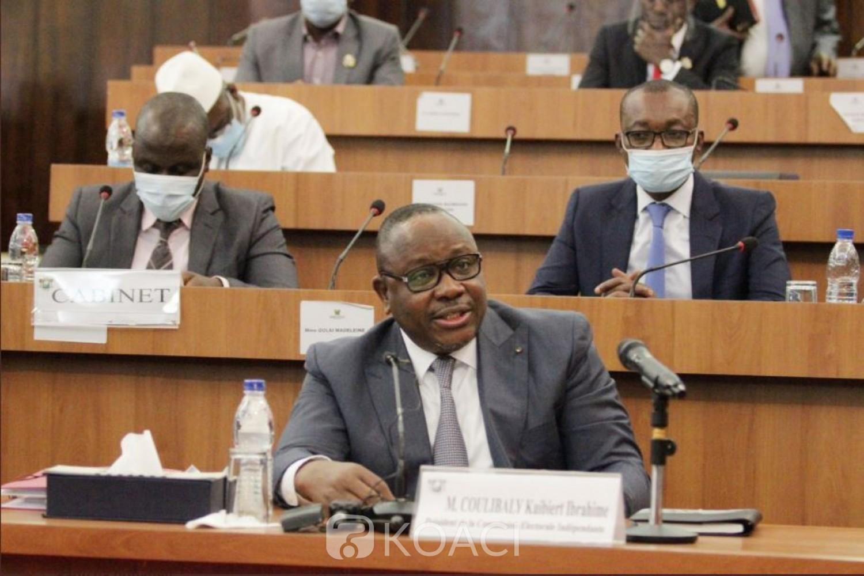 Côte d'Ivoire : Devant les députés, le président de la CEI affirme que  toutes les « conditions sont réunies pour des élections transparentes et crédibles »
