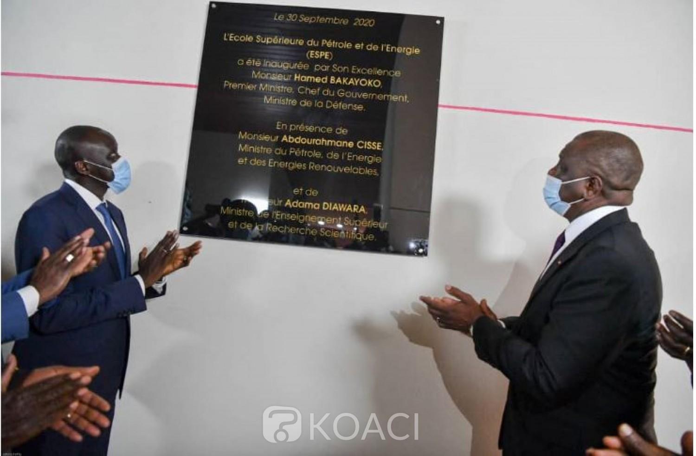 Côte d'Ivoire : Hamed Bakayoko à l'ouverture de  l'Ecole Supérieure du Pétrole et de l'Énergie : « Elle  permettra de disposer d'un capital humain de qualité »