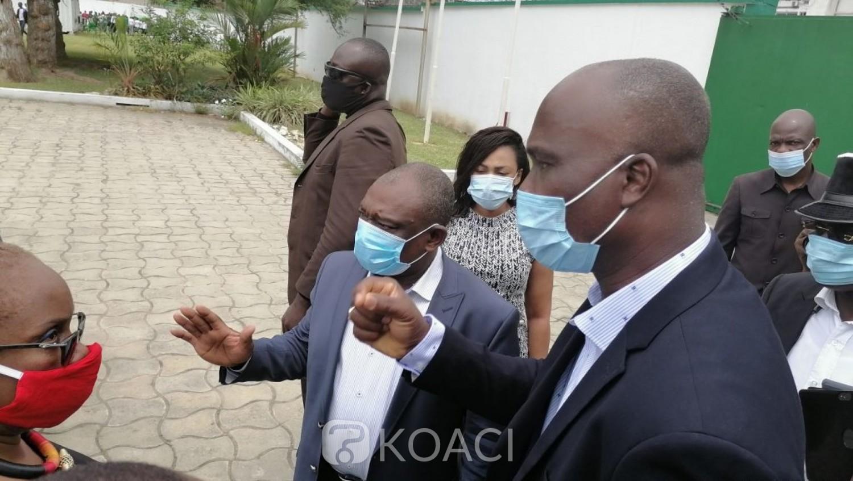 Côte d'Ivoire : Convoqué au siège du PDCI, KKB, arrivé, sans rencontrer le Conseil de Discipline fait demi-tour après un bref échange avec son avocat