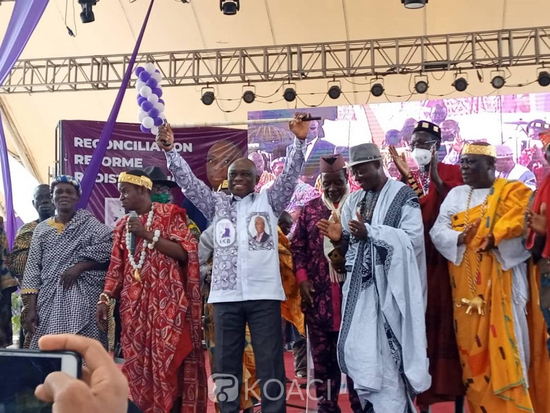 Côte d'Ivoire : Suspendu du PDCI, KKB s'attaque à son candidat : « Le candidat de ce parti n'a hélas aucun projet »