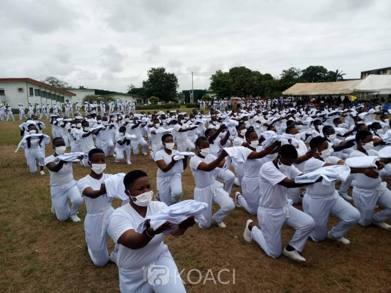 Côte d'Ivoire : INFAS de Treichville, la 29ème promotion passe le flambeau à la 30ème, près de 2000 étudiants « augmentent les effectifs » des agents de santé dans les hôpitaux