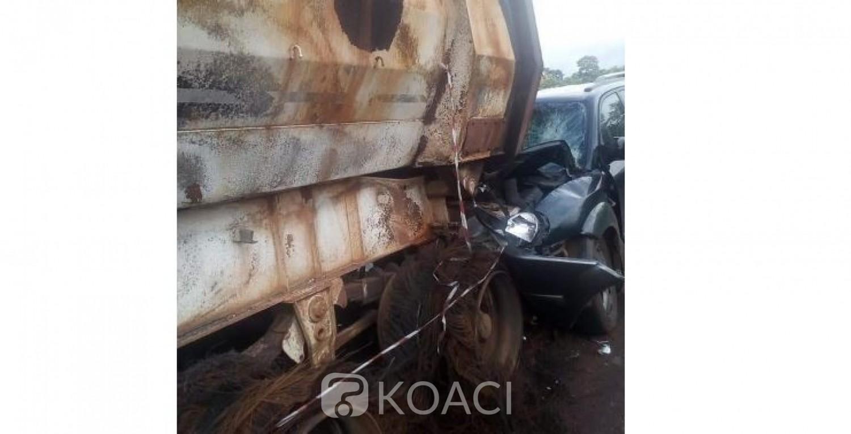 Côte d'Ivoire : Muté nouvellement à Danané, le fondé de pouvoir au Trésor perd tragiquement la vie dans un accident à l'entrée de Bangolo