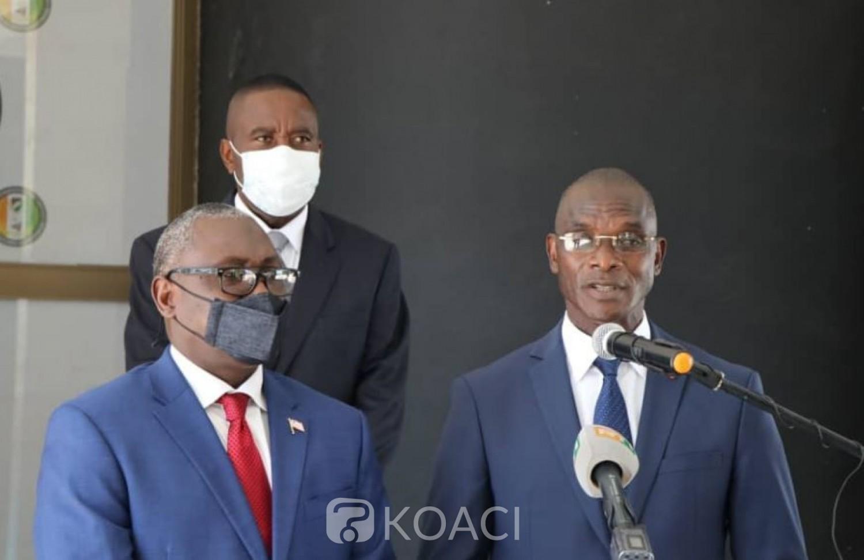 Côte d'Ivoire : Abidjan et Monrovia planchent  sur les questions inhérentes à la sécurisation de leurs frontières communes