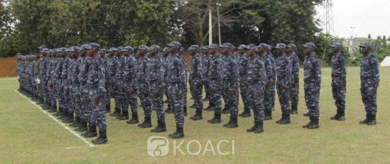 Côte d'Ivoire : Sécurité, 382 recrues de la police nationale présentées au drapeau
