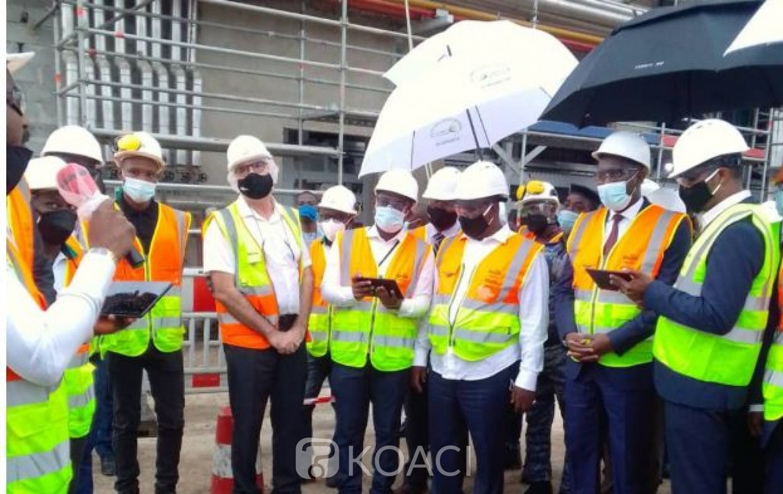 Côte d'Ivoire : Yopougon, le gouvernement sur le chantier d'extension de l'usine de broyage de Cargill d'un montant de 75 milliards de FCFA