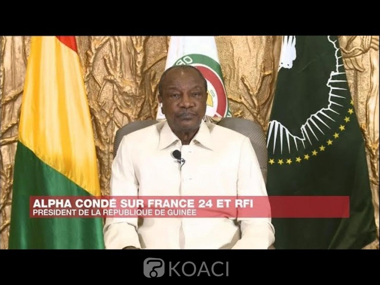 Guinée : Alpha Condé sur son troisième mandat controversé : « je ne viole pas la constitution »
