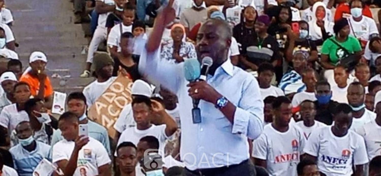 Côte d'Ivoire : La jeunesse estudiantine du RHDP promet la victoire à Ouattara au soir du 31 octobre et veut prendre une part active dans sa campagne