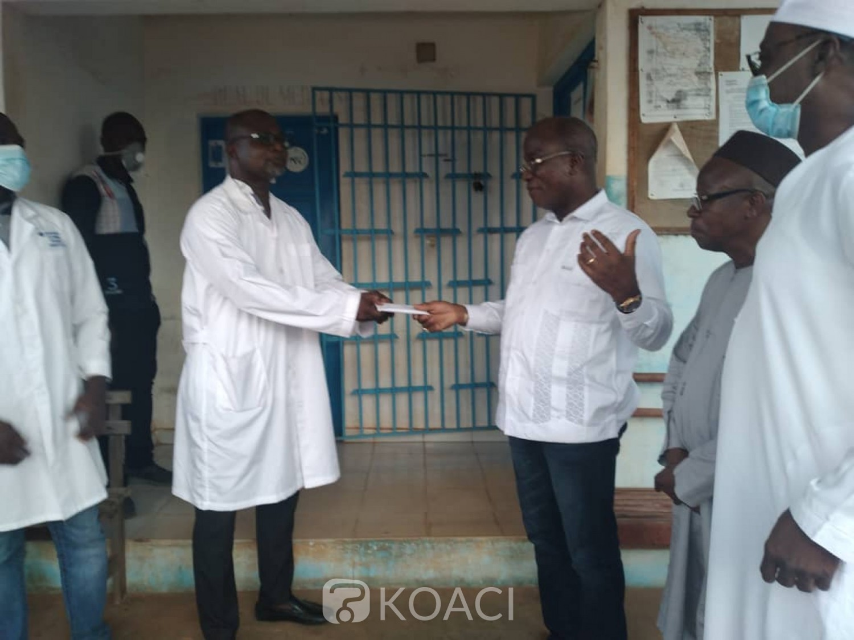 Côte d'Ivoire : Fin de calvaire pour les habitants du département de Botro, le DG du trésor remet les ambulances en état