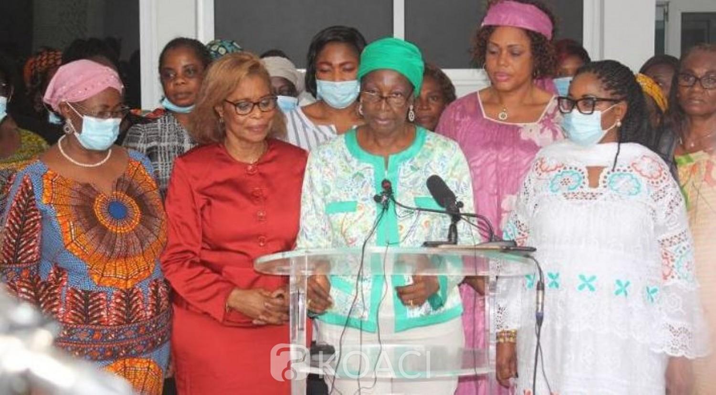 Côte d'Ivoire : Pour les femmes de l'opposition, le meeting du samedi s'inscrit dans le cadre du mot d'ordre de « Désobéissance civile »
