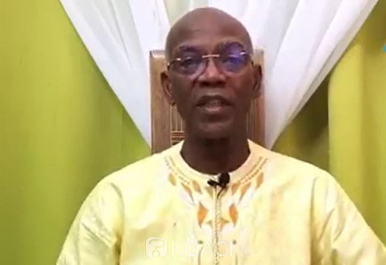 Côte d'Ivoire : Koulibaly réitère sa volonté de la non-ingérence de l'extérieure dans la situation socio-politique