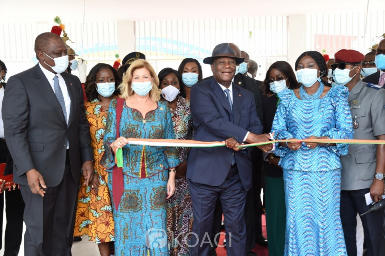 Côte d'Ivoire : Dominique Ouattara offre un groupe scolaire d'excellence aux normes internationales aux enfants d'Abobo d'une valeur de 1,65 milliards de FCFA
