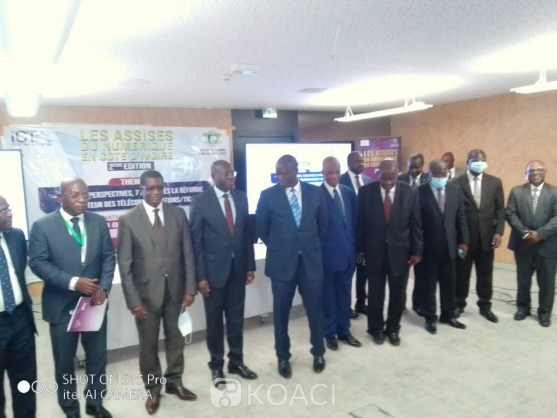 Côte d'Ivoire : Téléphonie mobile, le pays enregistre plus 37 millions d'abonnés et un chiffre d'affaires de plus de 1000 milliards FCFA (Ministre)