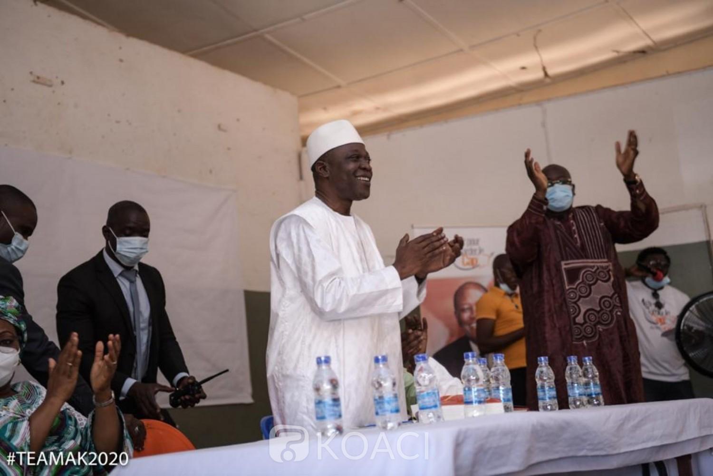 Côte d'Ivoire : Présidentielle, depuis Korhogo, Amadou Koné à ses parents: « aller voter massivement le 31 octobre 2020, pour faire taire définitivement ces bavards »