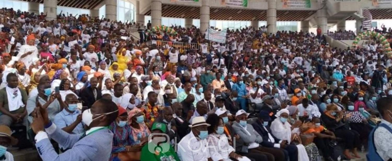 Côte d'Ivoire : Depuis Treichville, face à Hamed Bakayoko, la fédération des commerçants rend hommage au Chef de l'Etat
