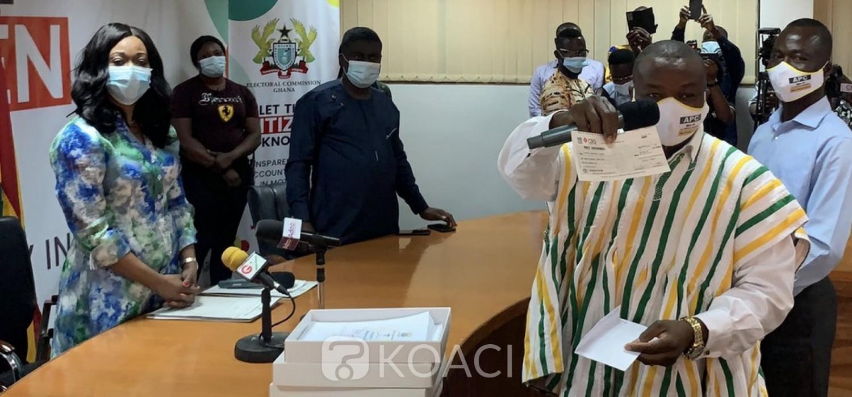 Ghana :  Présidentielle 2020, fin du dépôt des candidatures