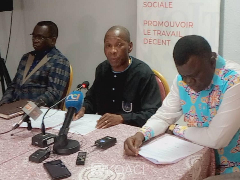 Côte d'Ivoire : Présidentielle, à moins de trois semaines, l'UGTCI, CISL DIGNITE et FESACI-CG invitent « instamment Ouattara de créer un cadre consensuel pour le déroulement d'élections crédibles »