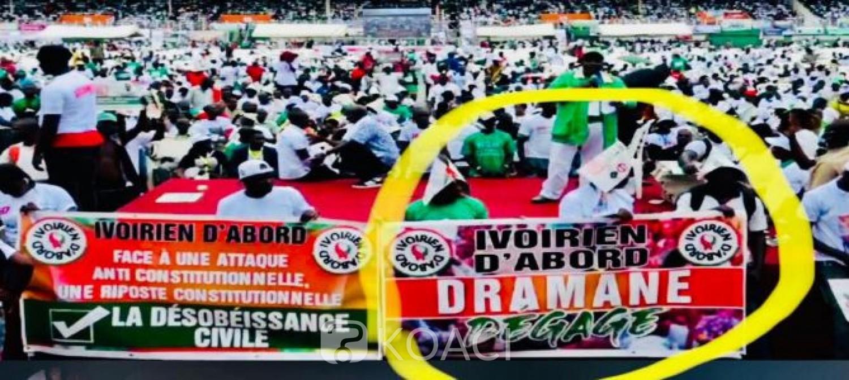 Côte d'Ivoire : Meeting de l'opposition, Patick Achi dénonce le retour de l'ivoirité et dit « STOP ! »