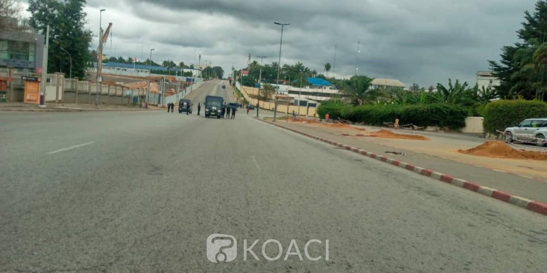 Côte d'Ivoire : Meeting de l'opposition, dispositif dissuasif des forces de l'ordre, des militants contraints à la marche