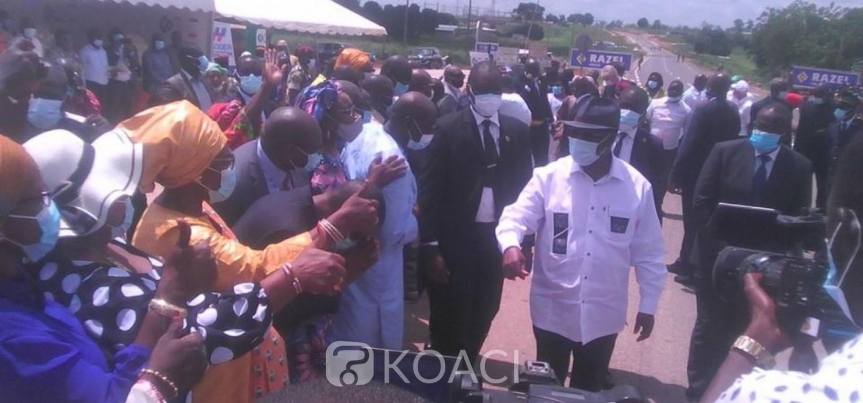 Côte d'Ivoire : Ferké, malgré une atmosphère de boycott, ADO accueilli en fanfare