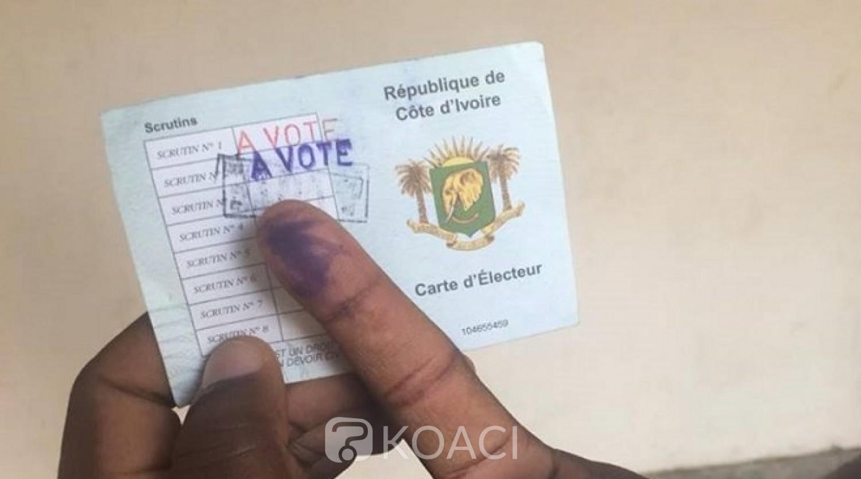 Côte d'Ivoire : Présidentielle, distribution des cartes d'electeurs du 14 au 20 Octobre