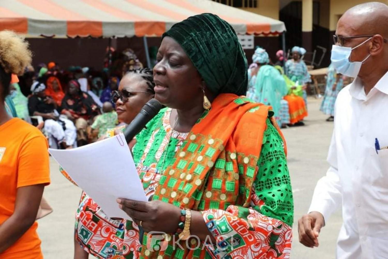 Côte d'Ivoire : Depuis Koumassi, les militantes Rhdp de la région de la Bagoué mobilisées pour la victoire de Ouattara