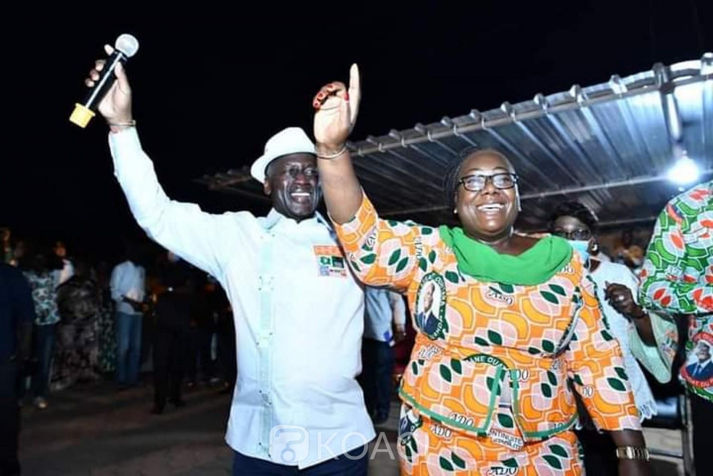 Côte d'Ivoire : Election 2020, Bictogo galvanise les militants du RHDP dans le Cavally et félicite l'excellent travail abattu par Anne Ouloto