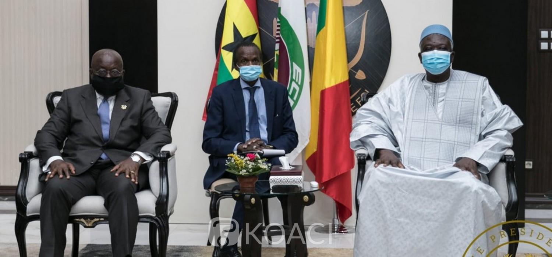 Mali :  La CEDEAO venue s'assurer de l'envol de la transition