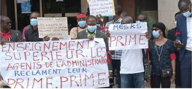 Côte d'Ivoire : Enseignement supérieur, le Ministre Diawara « renie » un arrêté de son prédécesseur  Mabri, grève à l'administration centrale